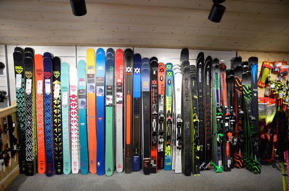 Vente de ski à Chatel