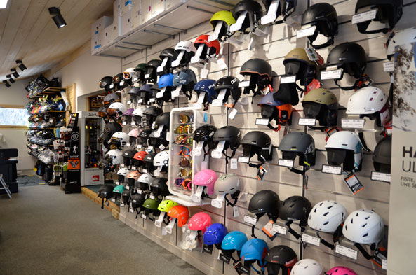 Ski and snowboard equipment in Chatel